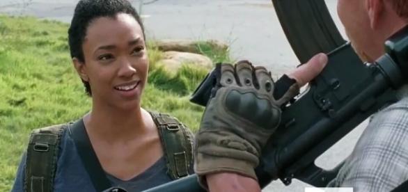 The Walking Dead: le couple Sasha/Abraham