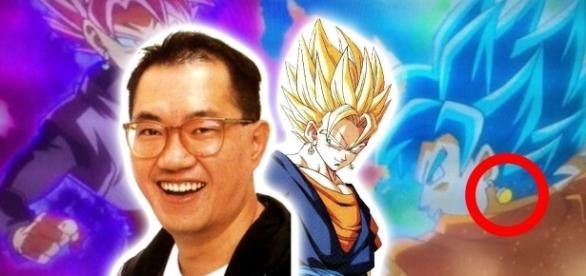 Une image leakée de la potara de Goku? Végéto arrive !