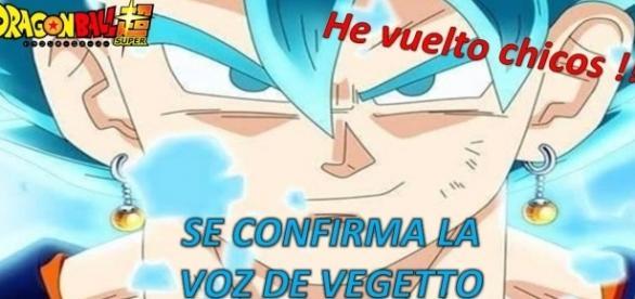 Vegetto Dios Azul - Dragón Ball Super