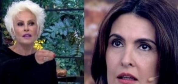 Ana Maria Braga e Fátima Bernardes