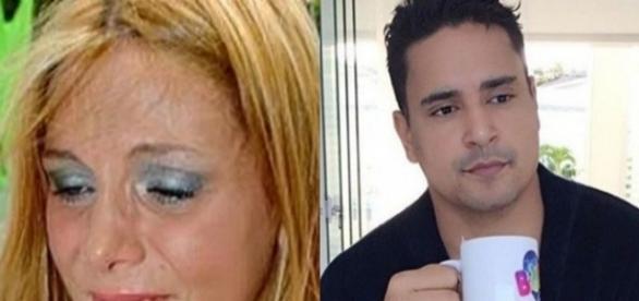 Carla Perez e Xandy quase foram separados