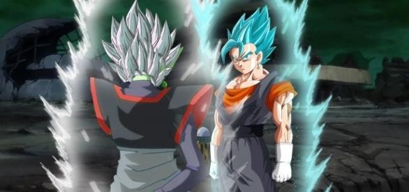 Dragon Ball Super Capítulo 66 la aparición de Vegetto se Confirma La fusión de goku y Vegeta vs BlackMasu
