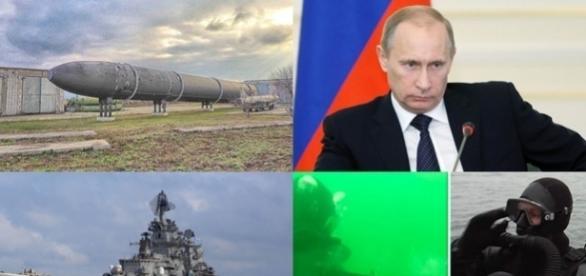 Forțele speciale subacvatice ale Marinei Ruse, demonstrație de forță marca Putin