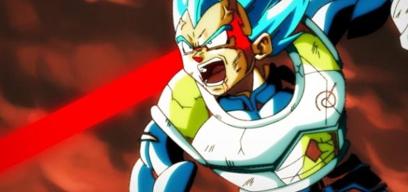 VEGETA DIOS AZUL DRAGON BALL SUPER