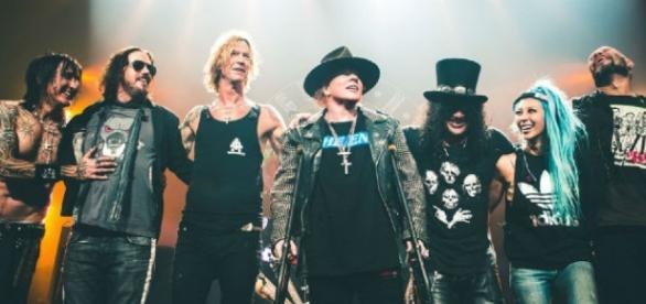 Guns 'N Roses começa turnê pela América Latina