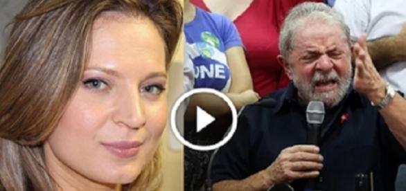 Lula processou Joice por crime contra a honra (Foto: Reprodução)