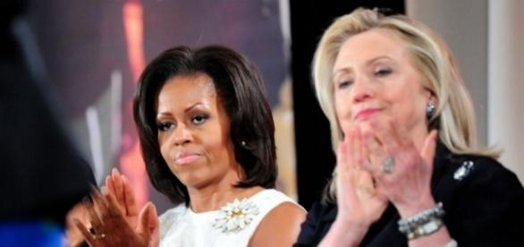 Michelle Obama hits the trail for Hillary is 2020 or 2024 in her scopes? Photo: Blasting News Library - dryerreport.com