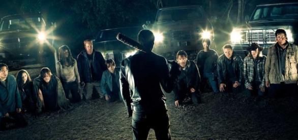 Póster de la temporada 7 de The Walking Dead
