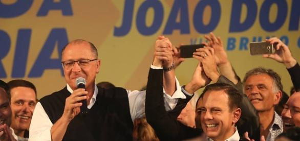 Prefeito eleito João Doria agora vai.
