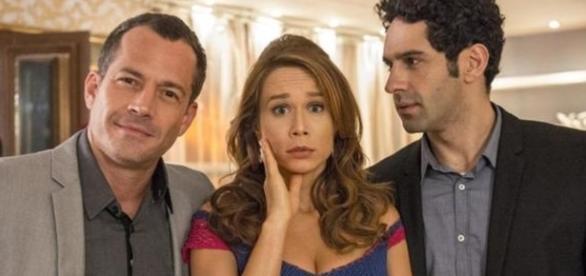 Apolo, Tancinha e Beto em 'Haja Coração' (Divulgação/Globo)