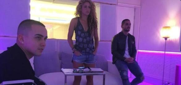 "El ""chantaje"" entre Shakira y Maluma que revoluciona las redes ... - elsalvador.com"