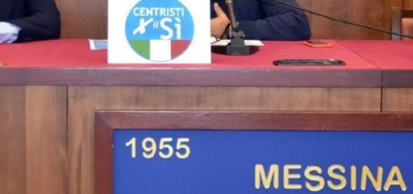 Giampiero D'alia alla conferenza centristi per il si