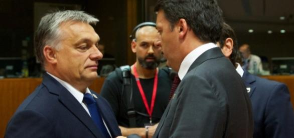 Orban contro Renzi, il premier italiano alza la voce
