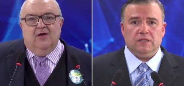 Rafael Greca e Ney Leprevost: última debate em Curitiba ao vivo na TV