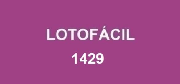 Resultado do sorteio 1429 da Lotofácil