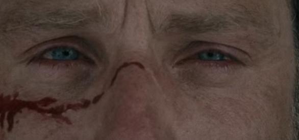 Rick Grimes, no primeiro episódio da sétima temporada.