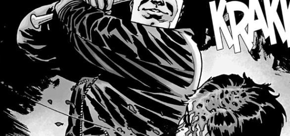 The Walking Dead: Edição da HQ em que Negan mata Glenn