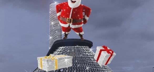 Casa di Babbo Natale dal 25 Novembre 2016 a Salerno.