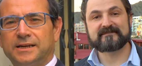 Ilario Sorgiovanni e Andrea Correggia.
