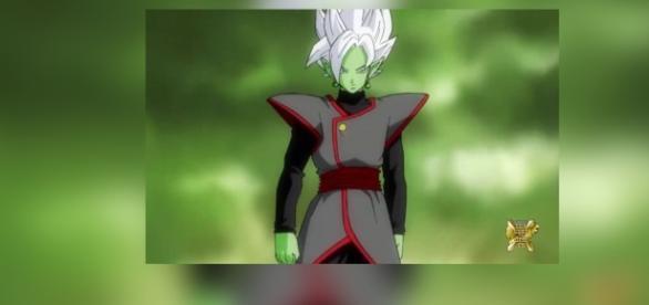 La fusión de Goku Black y Zamasu en el juego.