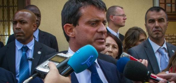 Manuel Valls point de presse à Strasbourg 2013 - CC BY
