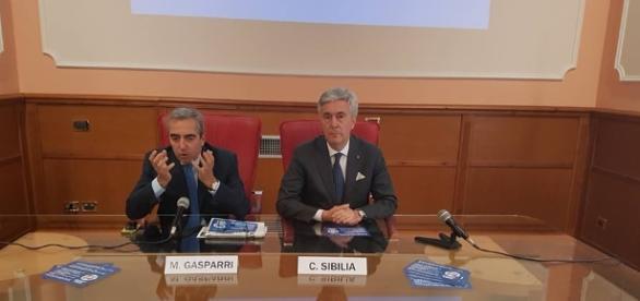 Maurizio Gasparri e Cosimo Sibilia.