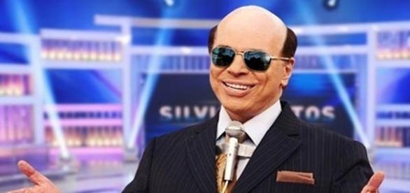 Silvio em montagem que mostra como o apresentador seria careca.