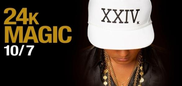 "Bruno Mars marca seu retorno com ""24K Magic"""
