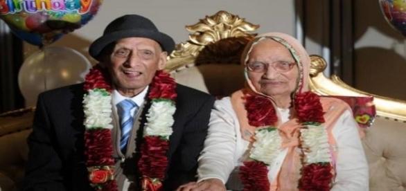 Casal com casamento mais longevo do mundo