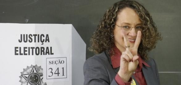 Luciana ficou em 5º lugar nas eleições (Foto: Reprodução)