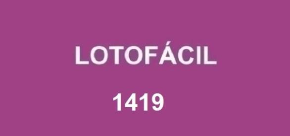 Sorteio 1419 da Lotofácil acontece nesta segunda-feira (3).