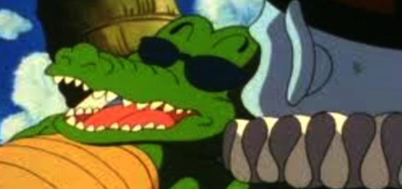 Alligator o cocodrilo fue un personaje quien convivió con el maestro roshi.