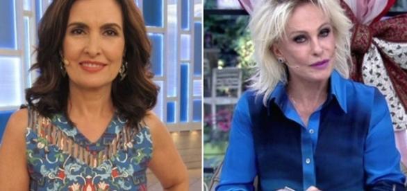 Clima ruim entre Fátima Bernardes e Ana Maria Braga está aumentando e criando uma certa rivalidade na Globo.
