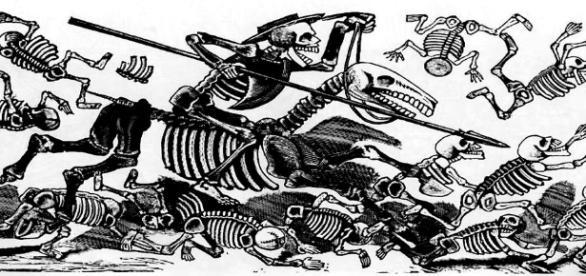 Día de muertos, una tradición que no muere a pesar de los años.