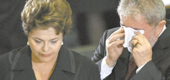 Dilma e Lula - Foto/Reprodução: Google