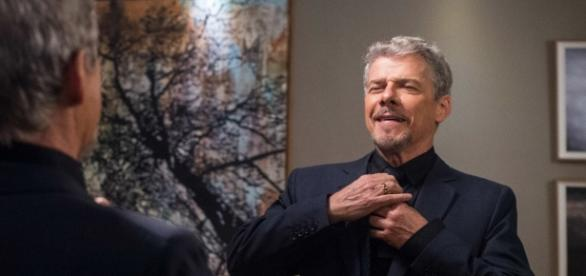 José Mayer vive Tião Bezerra, seu primeiro vilão em novelas