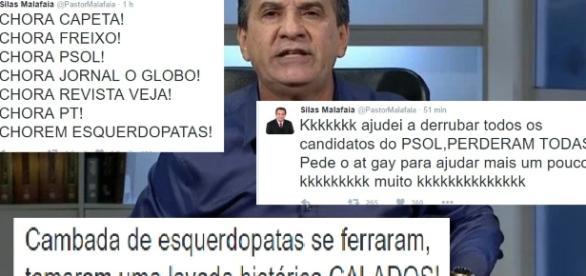 Malafaia ataca gays e manda capeta chorar