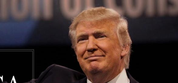 The new President of the United States of America Donald Trump Courtesy: Judith E. Bell via flickr