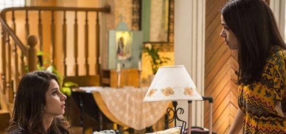 Carmela e Shirlei em 'Haja Coração' (Divulgação/Globo)