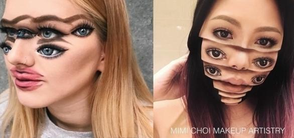 Conheça as maquiagens que podem confundir sua mente