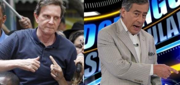 Crivella vai fechar a Globo, diz âncora - Foto/Montagem: Google