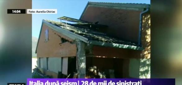 Fotografii de la cutremur din localitatea Nurcia