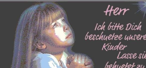 Kindesmissbrauch und das Flehen, dass es nicht statt finden möge.