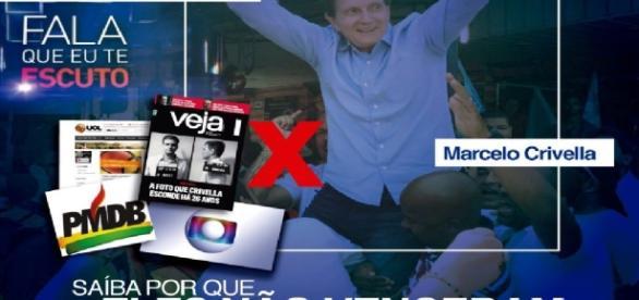 Marcello Crivella e os ataques à Globo