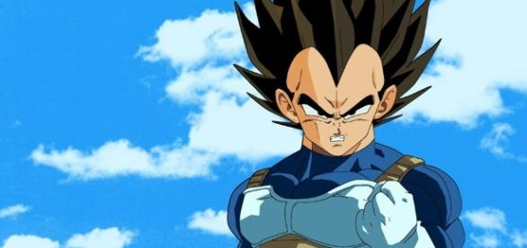 Vegeta en la serie Dragon Ball Super