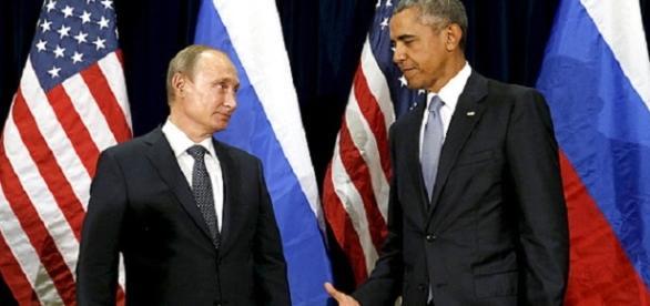 Vladimir Putin e Barack Obama (Foto: Reprodução)