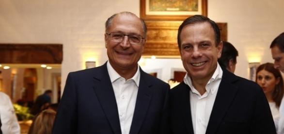 Alckmin foi o padrinho político de Doria