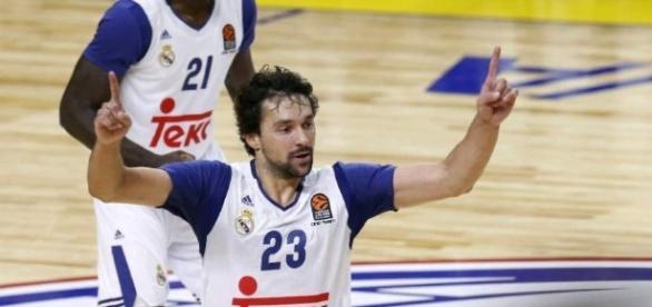 El MVP del encuentro entre el Real Madrid Baloncesto y Oklahoma City Thunder. Foto: EFE