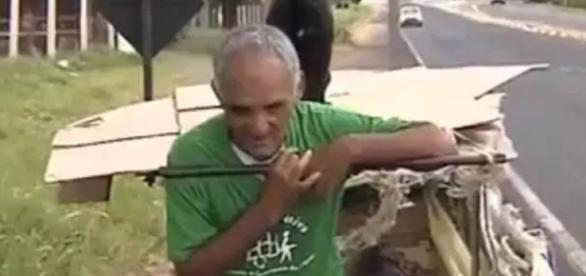 Homem é catador de lixo, mas se elegeu na política