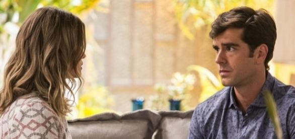 Jéssica tenta ficar com Felipe após armação em 'Haja Coração'